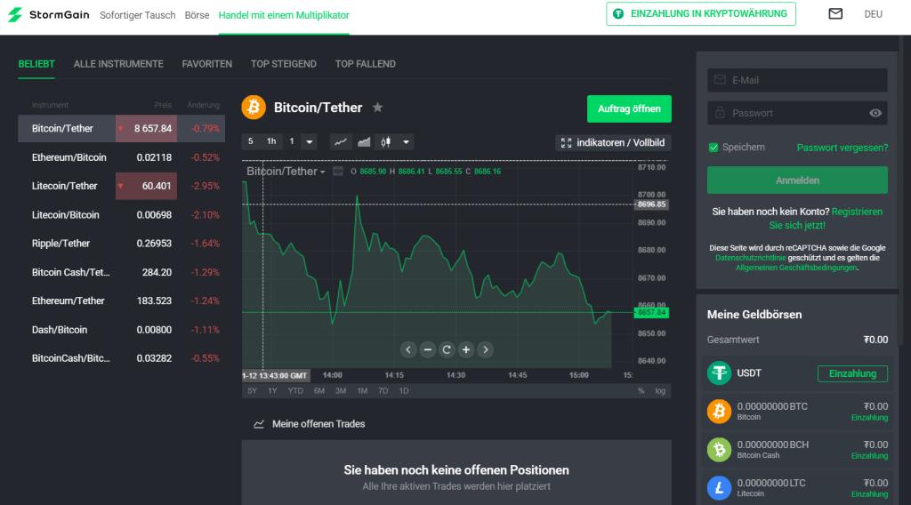 Stormgain-Trading